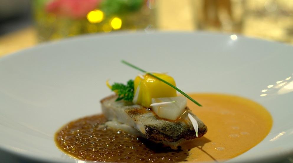 pescado de roca con perlas de suquet - II