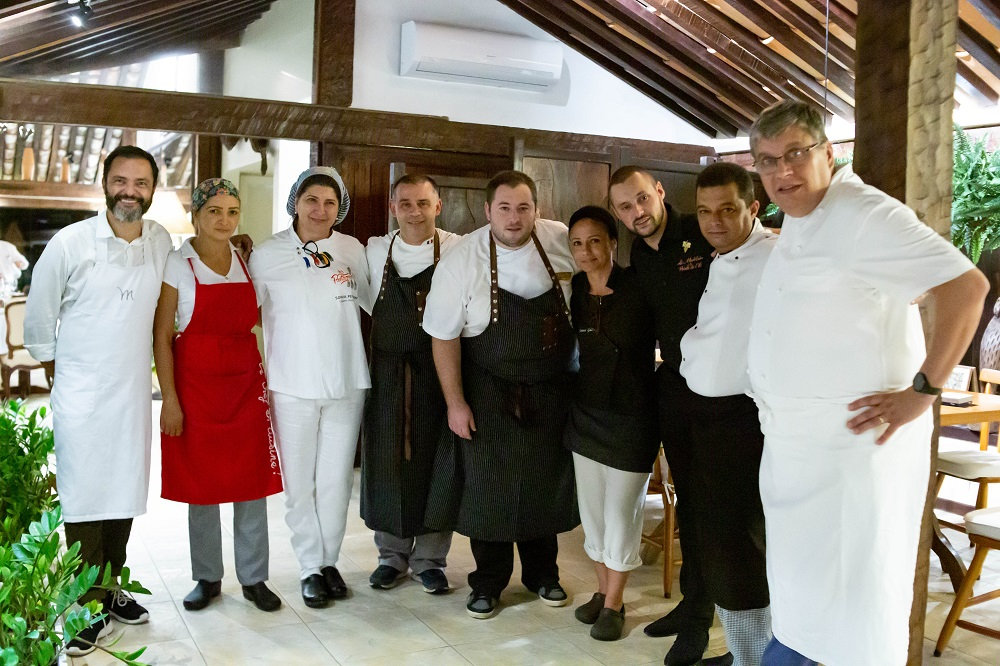 Os chefs convidados para a edição 8.1 do Les Pantagruels | Foto de Bruno Barreto